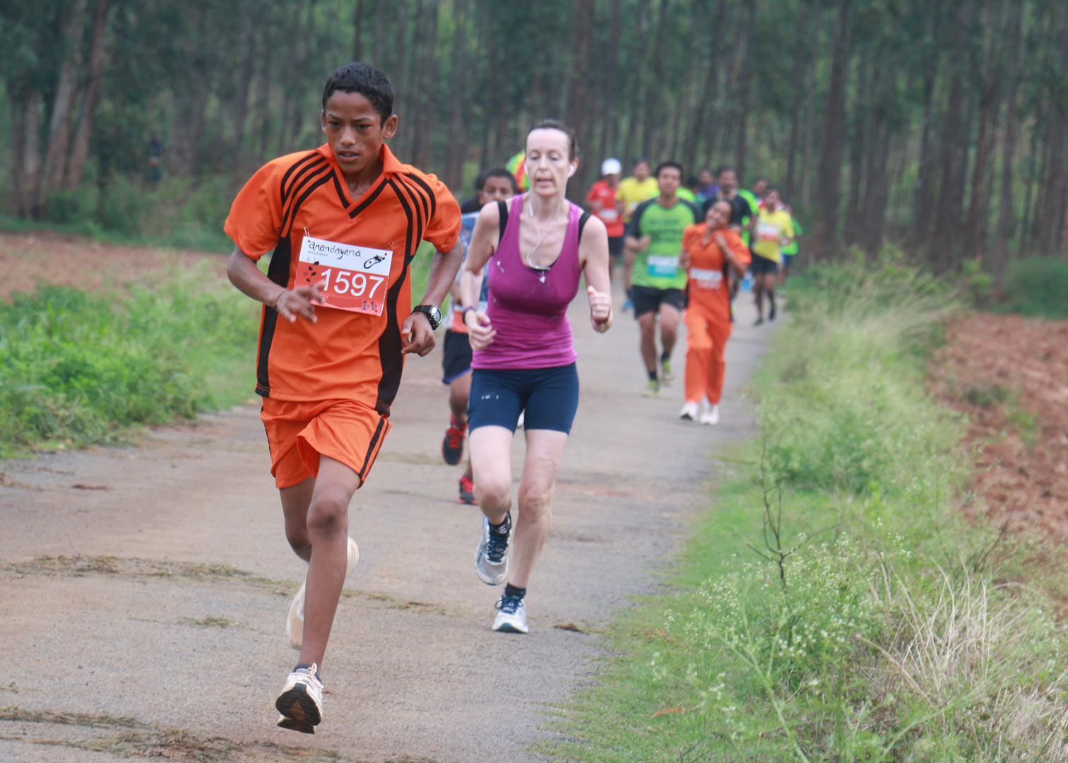 Some of the faster runners of Anandayana